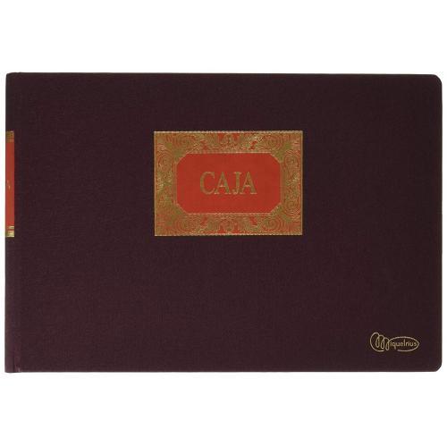 MIQUELRIUS 4053 Libro de contabilidad clase R. - Caja formato folio apaisado