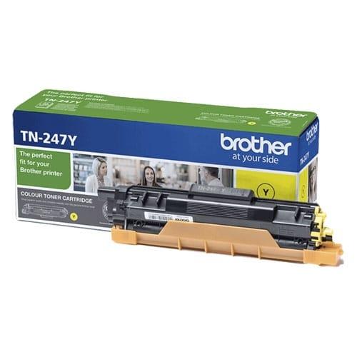 BROTHER TN247Y Cartucho de tóner original amarillo - TN-247Y