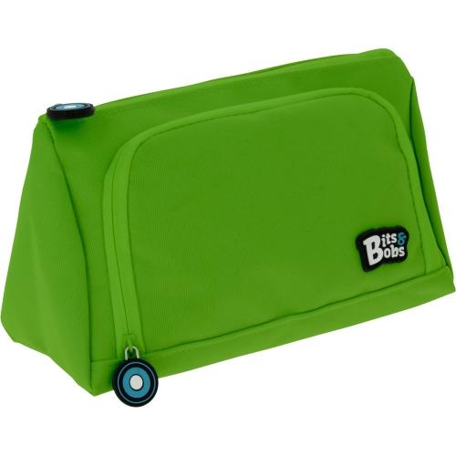 GRAFOPLAS 37545920. Estuche escolar portatodo Pirámide Bits&Bobs verde