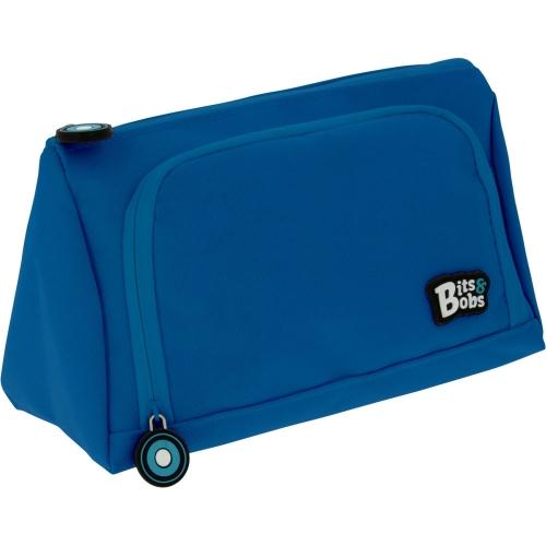 GRAFOPLAS 37545930. Estuche escolar portatodo Pirámide Bits&Bobs azul