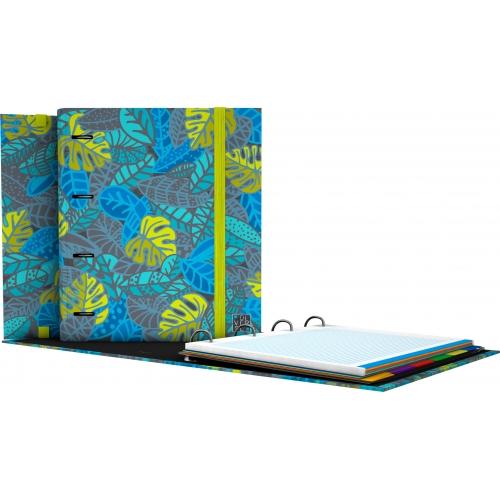 GRAFOPLAS 88101964. Pack 2 CarpeBook A4 Diverse Leafs