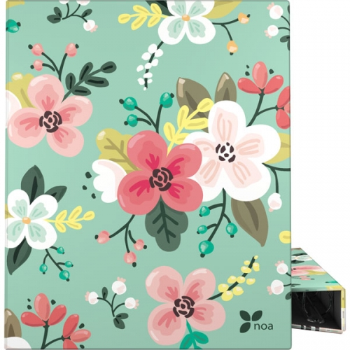 GRAFOPLAS 88141934. Pack 2 carpetas de anillas 25 mm. A4 Noa Flores