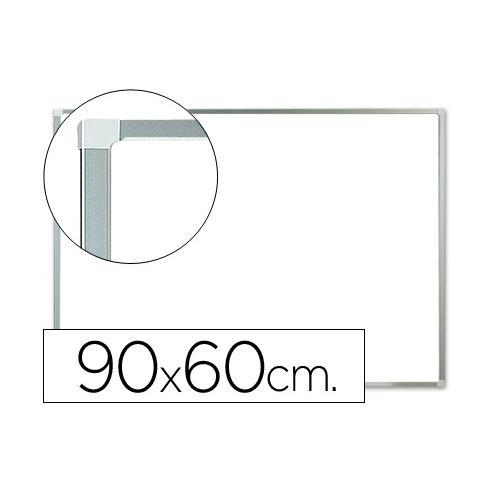 Q-Connect KF01079. Pizarra blanca lacada 90 x 60 cm con marco de aluminio