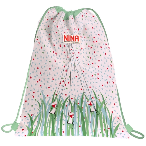 GRAFOPLAS 37610539. Mochila saco con cuerdas Nina and other little things Nature