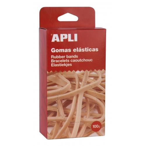 APLI 13364. Gomas elasticas de ø 200 x 10 mm (100 gr.)