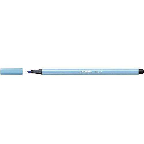 STABILO 68-57. Rotulador Pen 68 Trazo 1 mm. Azul celeste