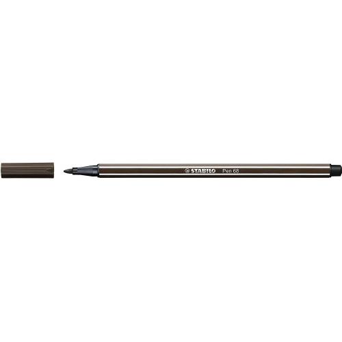 STABILO 68-65. Rotulador Pen 68 Trazo 1 mm. Ocre