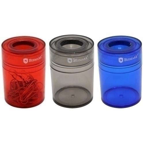 BISMARK 325606 Portaclips imantado redondo. Colores surtidos