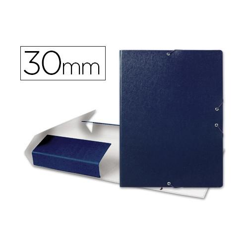 Liderpapel Carpeta de proyectos Folio cartón gofrado lomo de 30 mm. Colores