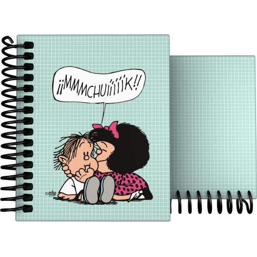 GRAFOPLAS 16531973. Cuaderno tapa dura A7 Mafalda Muak