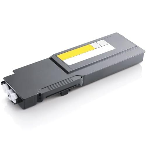Iberjet D3760YC Cartucho de tóner amarillo, reemplaza a Dell 59311120