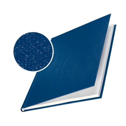 Leitz 73960035 Pack 10 tapas rígidas impressBIND, 24,5 mm. Color azul