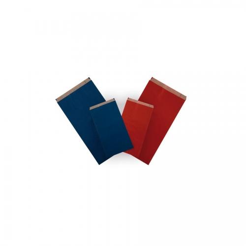 APLI 101651. Pack 250 sobres kraft color rojo de (11 x 21 x 5 cm.)