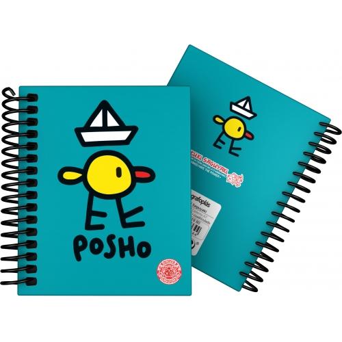 GRAFOPLAS 16531980. Cuaderno tapa dura A7 Katuki Saguyaki Poshos