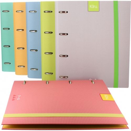 GRAFOPLAS 88102160. Pack 2 CarpeBook A4 Kuru color amarillo