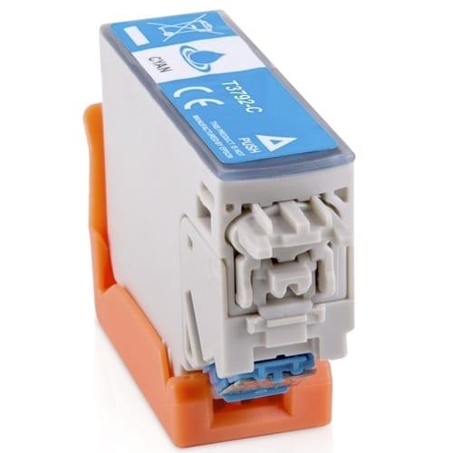 Iberjet T3792-C Cartucho de tinta cian, reemplaza a Epson C13T37924010
