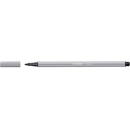 STABILO 68-95. Rotulador Pen 68 Trazo 1 mm. Gris medio