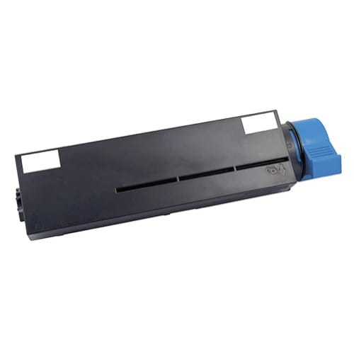 Iberjet O412C Cartucho de tóner negro, reemplaza a OKI 45807102