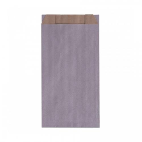 APLI 102060. Pack 250 sobres kraft color plata de (11 x 21 x 5 cm.)