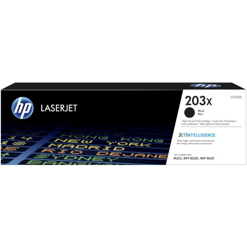 HP 203X Cartucho de tóner original negro - CF540X