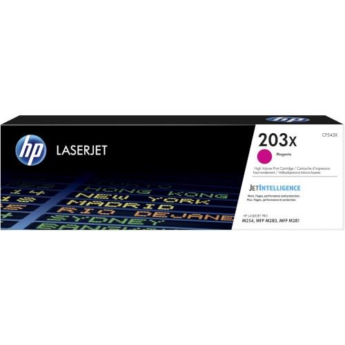 HP 203X Cartucho de tóner original magenta - CF543X
