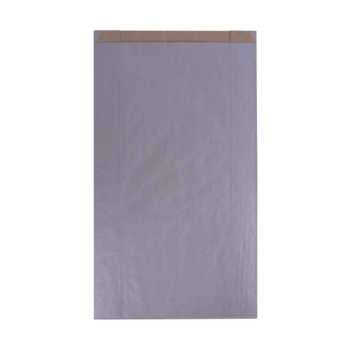 APLI 102061. Pack 250 sobres kraft color plata de (18 x 32 x 6 cm.)