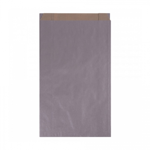 APLI 102564. Pack 250 sobres kraft color plata de (24 x 43 x 7 cm.)
