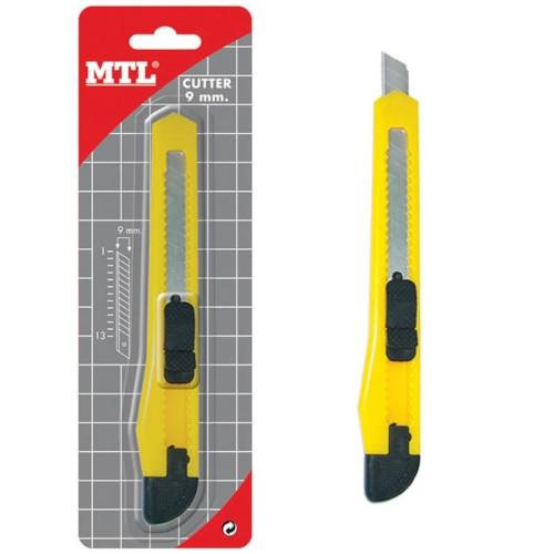 MTL 79250 Cutter de 9 mm con guía de plástico