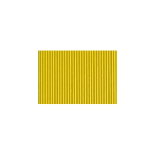 GRAFOPLAS 00036760. Pack 5 láminas de Goma Eva corrugada de 40 x 60 cm. Color amarillo