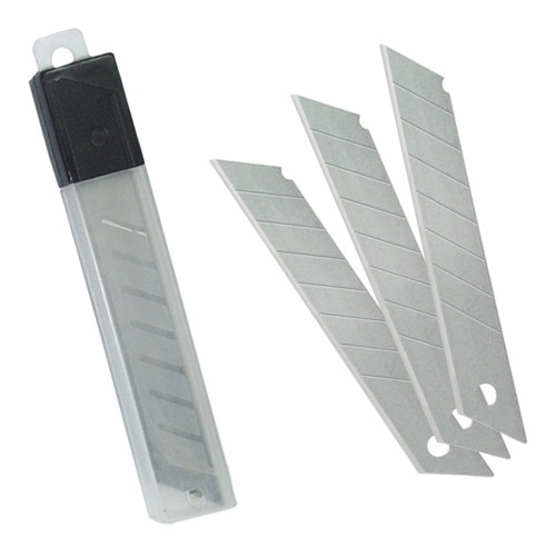 MTL 79276 Recambio cutter 18 mm. Estuche de 10 cuchillas