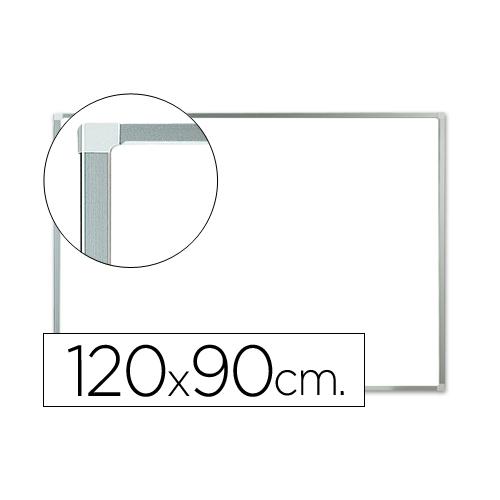 Q-Connect KF01080. Pizarra blanca lacada 120 x 90 cm con marco de aluminio