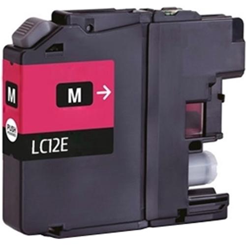 Iberjet BLC12EM Cartucho de tinta magenta, reemplaza a Brother LC12EM
