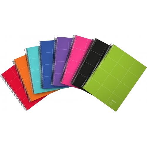 GRAFOPLAS 88522935. Cuaderno tapa dura A4 Unequal Grid violeta