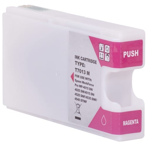 Iberjet ET7013-M Cartucho de tinta magenta, reemplaza a Epson C13T70134010 / C13T70234010 / C13T70334010