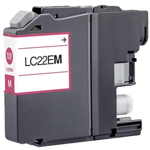 Iberjet BLC22EM Cartucho de tinta magenta, reemplaza a Brother LC22EM