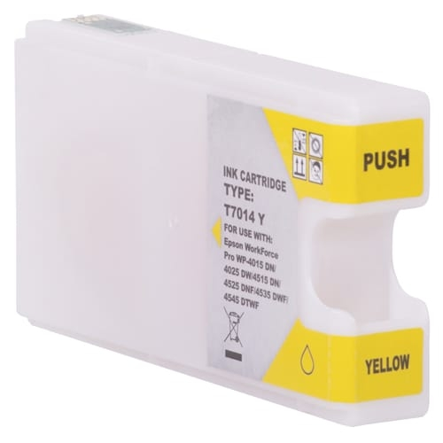 Iberjet ET7014-Y Cartucho de tinta amarillo, reemplaza a Epson C13T70144010 / C13T70244010 / C13T70344010