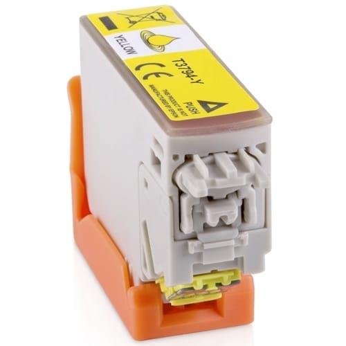 Iberjet T3794-Y Cartucho de tinta amarillo, reemplaza a Epson C13T37944010