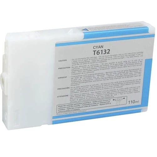 Iberjet T6132-C Cartucho de tinta cian, reemplaza a Epson C13T613200