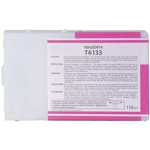 Iberjet T6133-M Cartucho de tinta magenta, reemplaza a Epson C13T613300