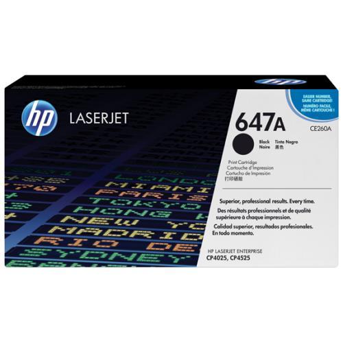 HP 647A - Toner Laser original Nº 647 A Negro - CE260A
