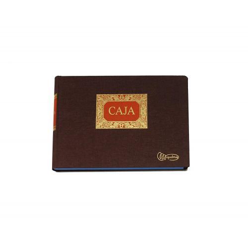 MIQUELRIUS 4079 - Libro de contabilidad clase R. Caja formato cuarto apaisado