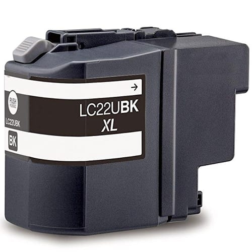 Iberjet BLC22UBK Cartucho de tinta negro, reemplaza a Brother LC22UBK