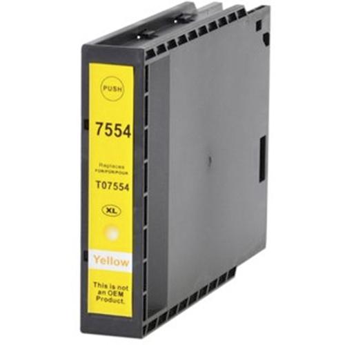 Iberjet ET7554XL-Y Cartucho de tinta amarillo, reemplaza a Epson C13T755440