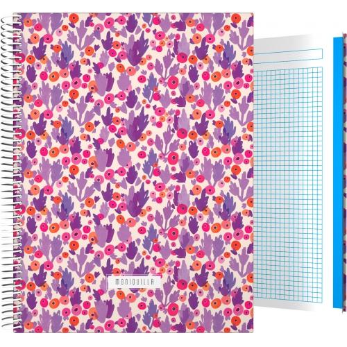 GRAFOPLAS 16501965. Cuaderno tapa dura A4 Moniquilla Cactus