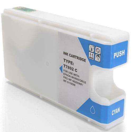 Iberjet ET7892-C Cartucho de tinta cian, reemplaza a Epson C13T789240