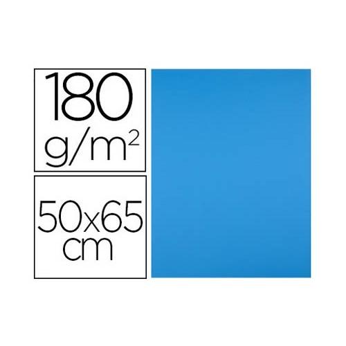 Cartulinas Liderpapel 50x65 cm de 180g/m2. Varios colores