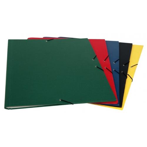 Mariola 5230NE. Carpeta de dibujo A3 con goma sin solapa color negra