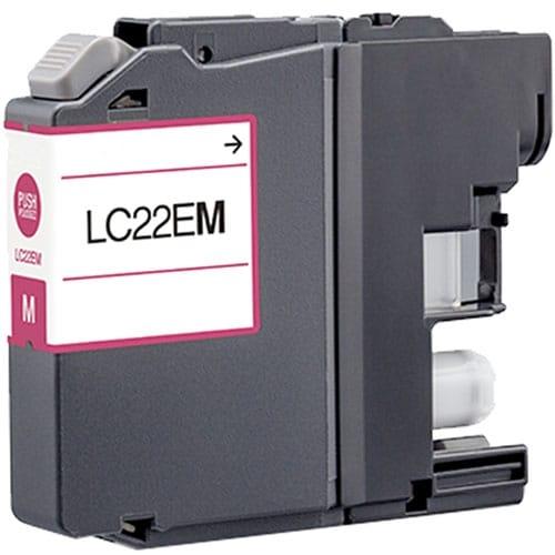 Iberjet BLC22UM Cartucho de tinta magenta, reemplaza a Brother LC22UM