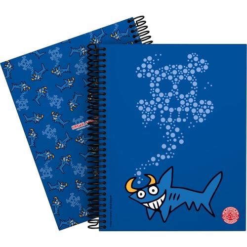 GRAFOPLÁS 16512633. Cuaderno tapa dura A5, 90 hojas, Katuki Shark