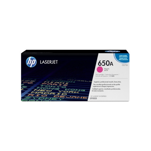 HP 650A Cartucho de tóner original magenta - CE273A